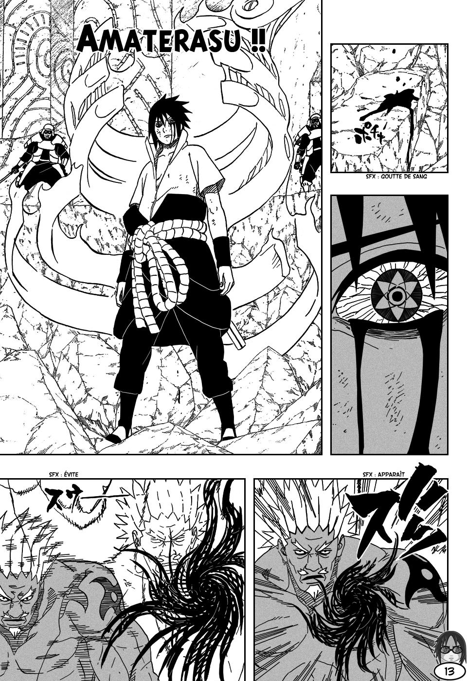 Naruto chapitre 463 - Page 12