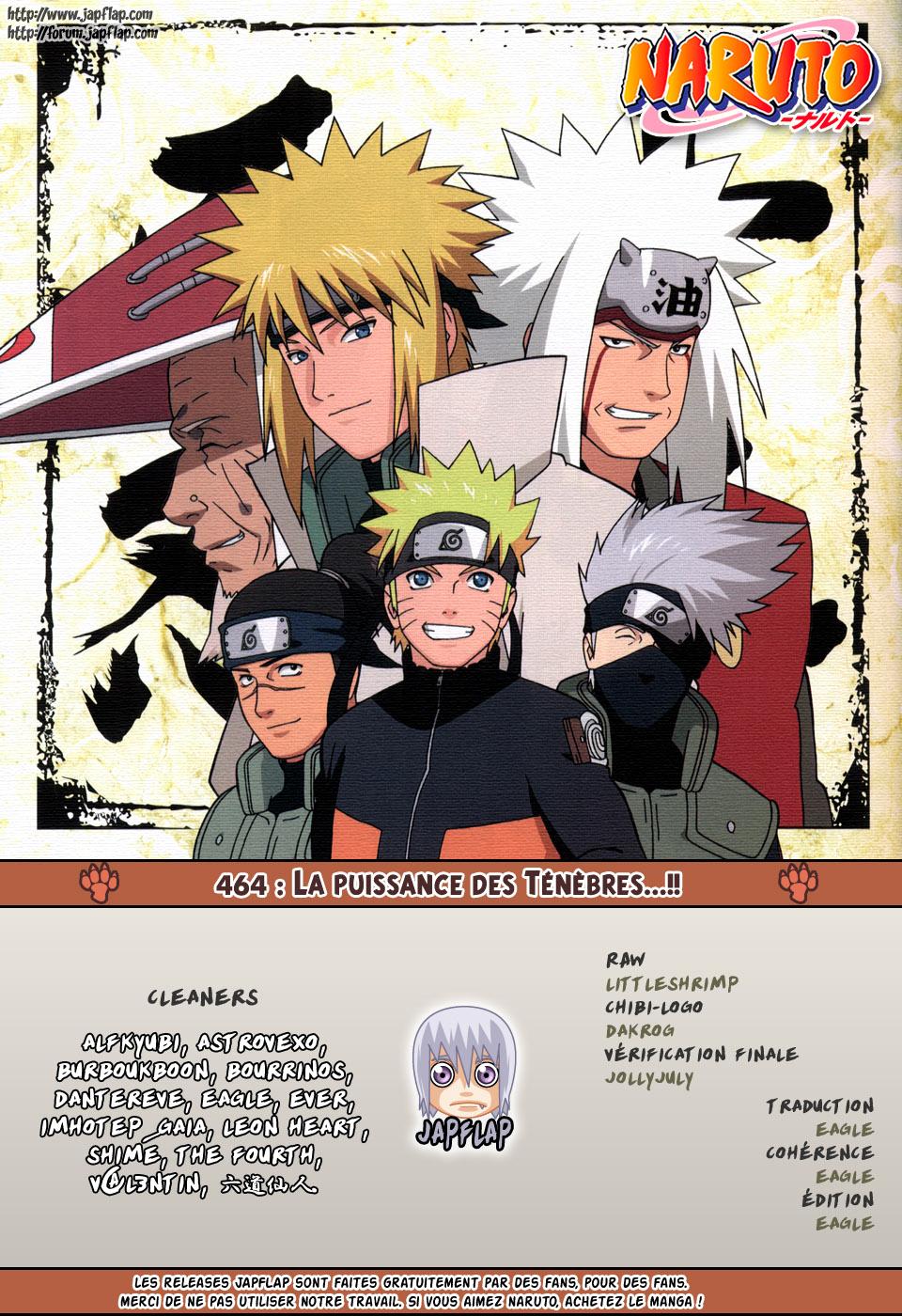 Naruto chapitre 464 - Page 17