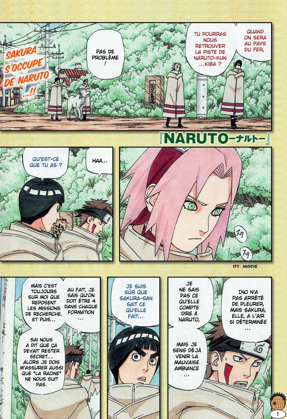 Naruto chapitre 467 - Page 1