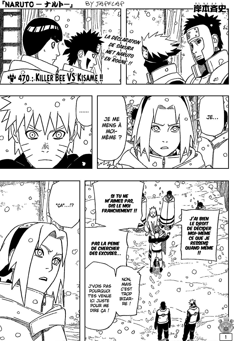 Naruto chapitre 470 - Page 1