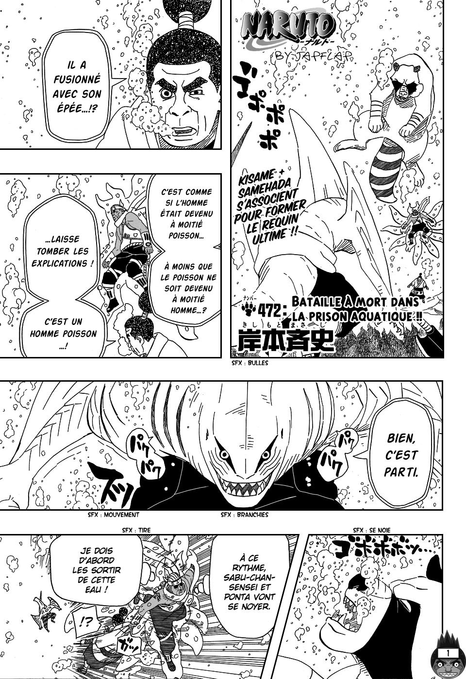 Naruto chapitre 472 - Page 1