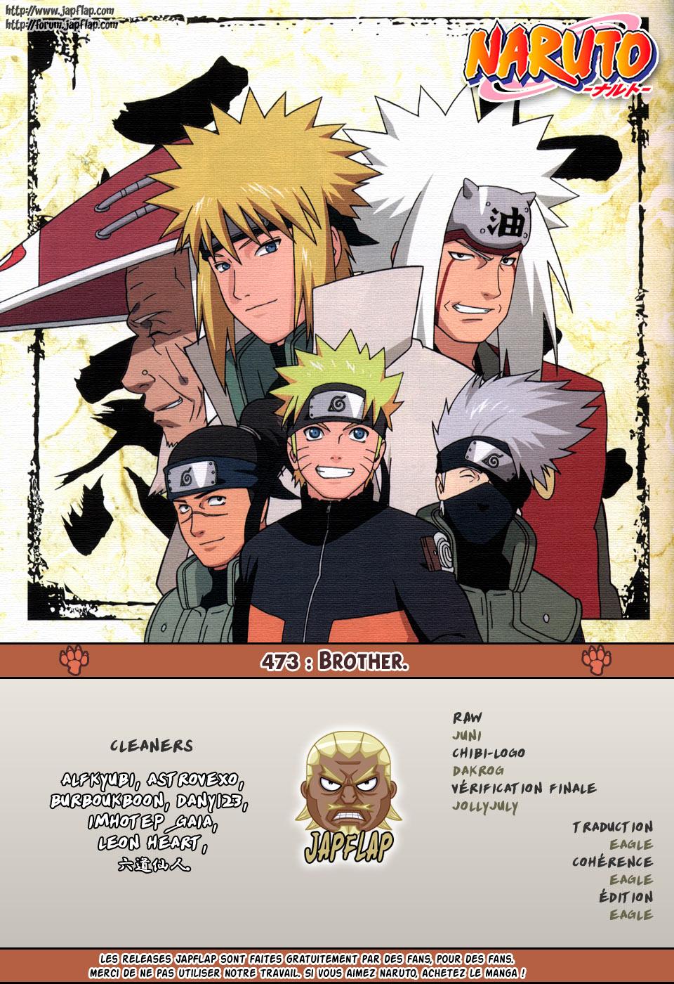 Naruto chapitre 473 - Page 17