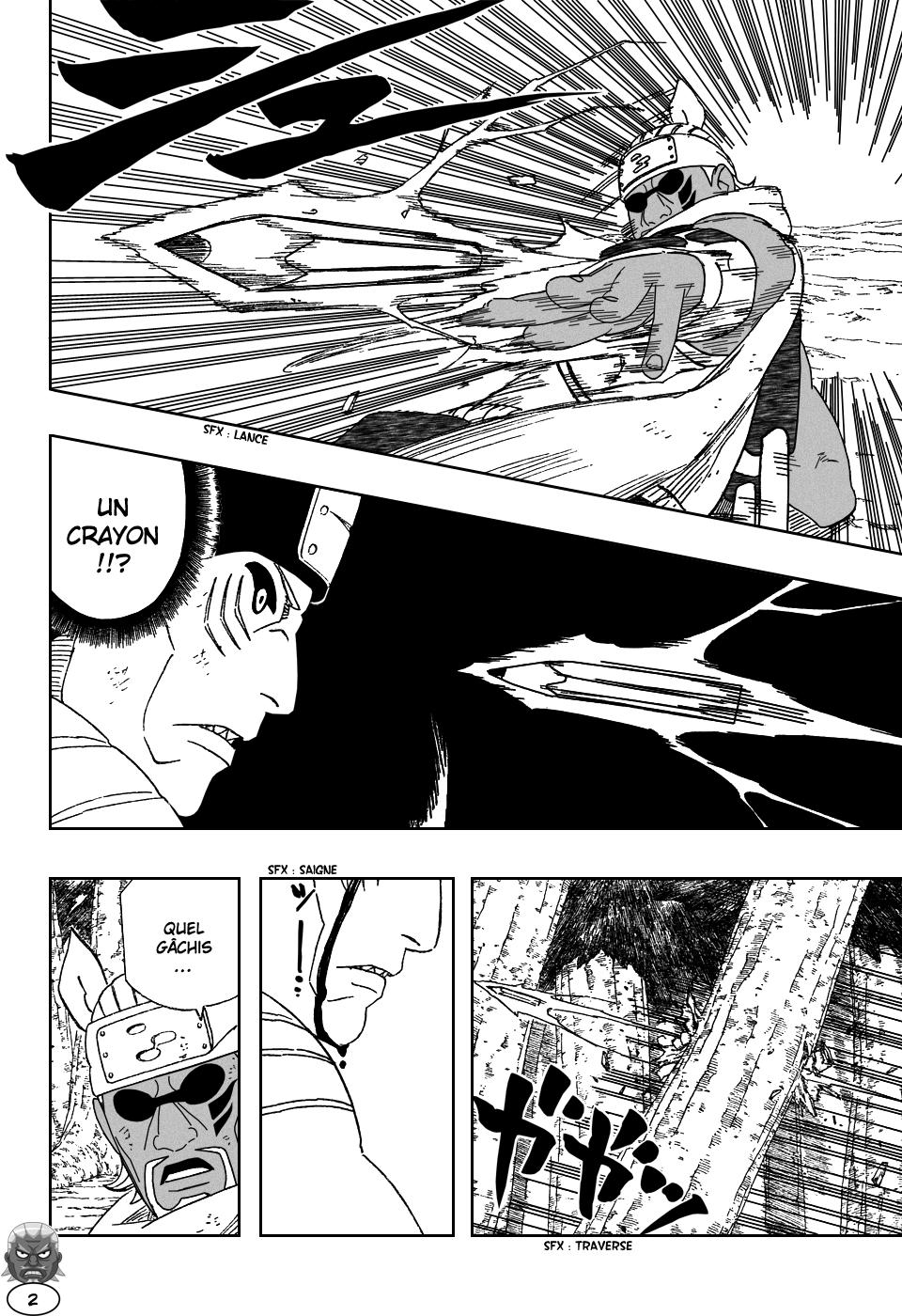 Naruto chapitre 473 - Page 2
