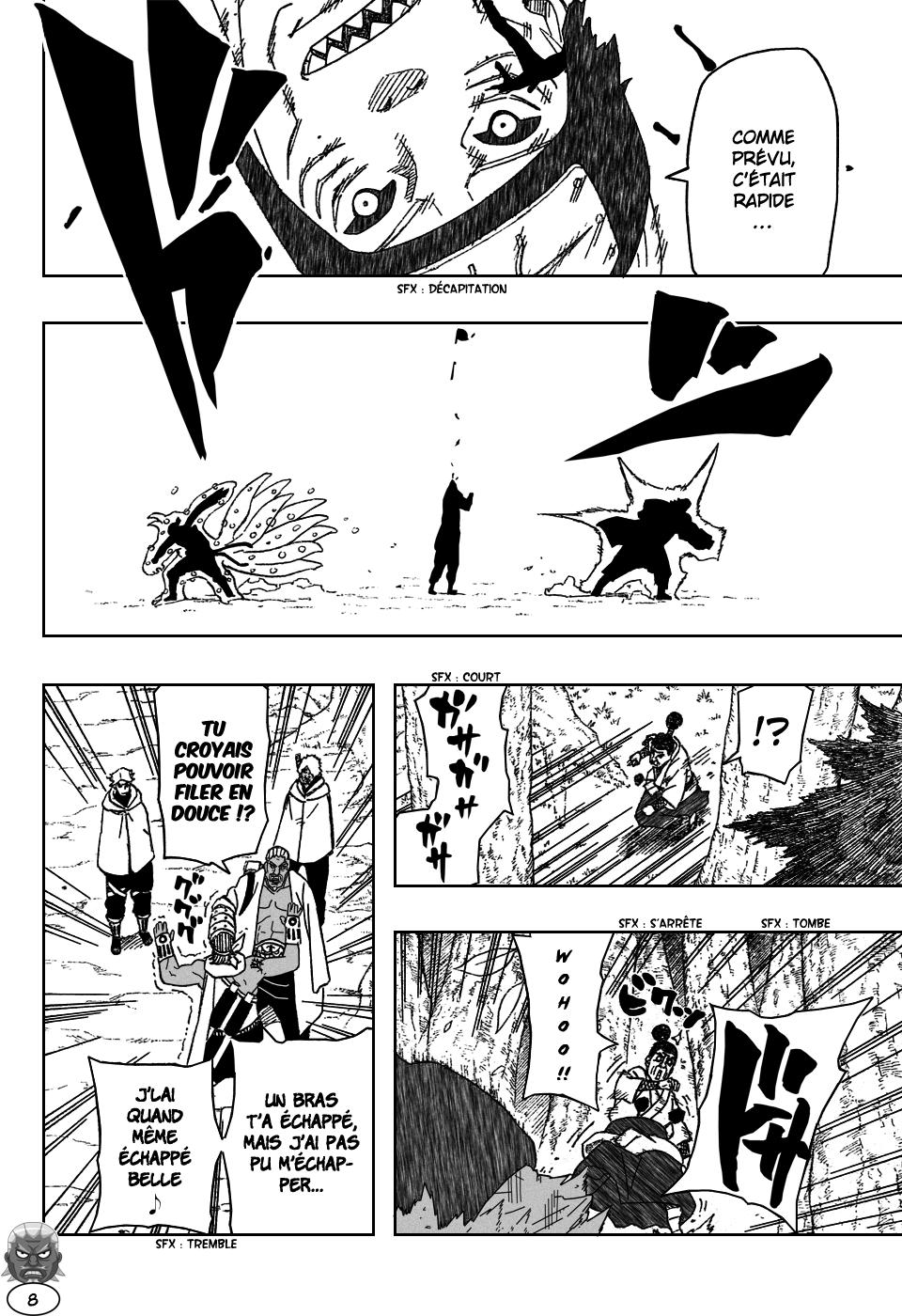 Naruto chapitre 473 - Page 7