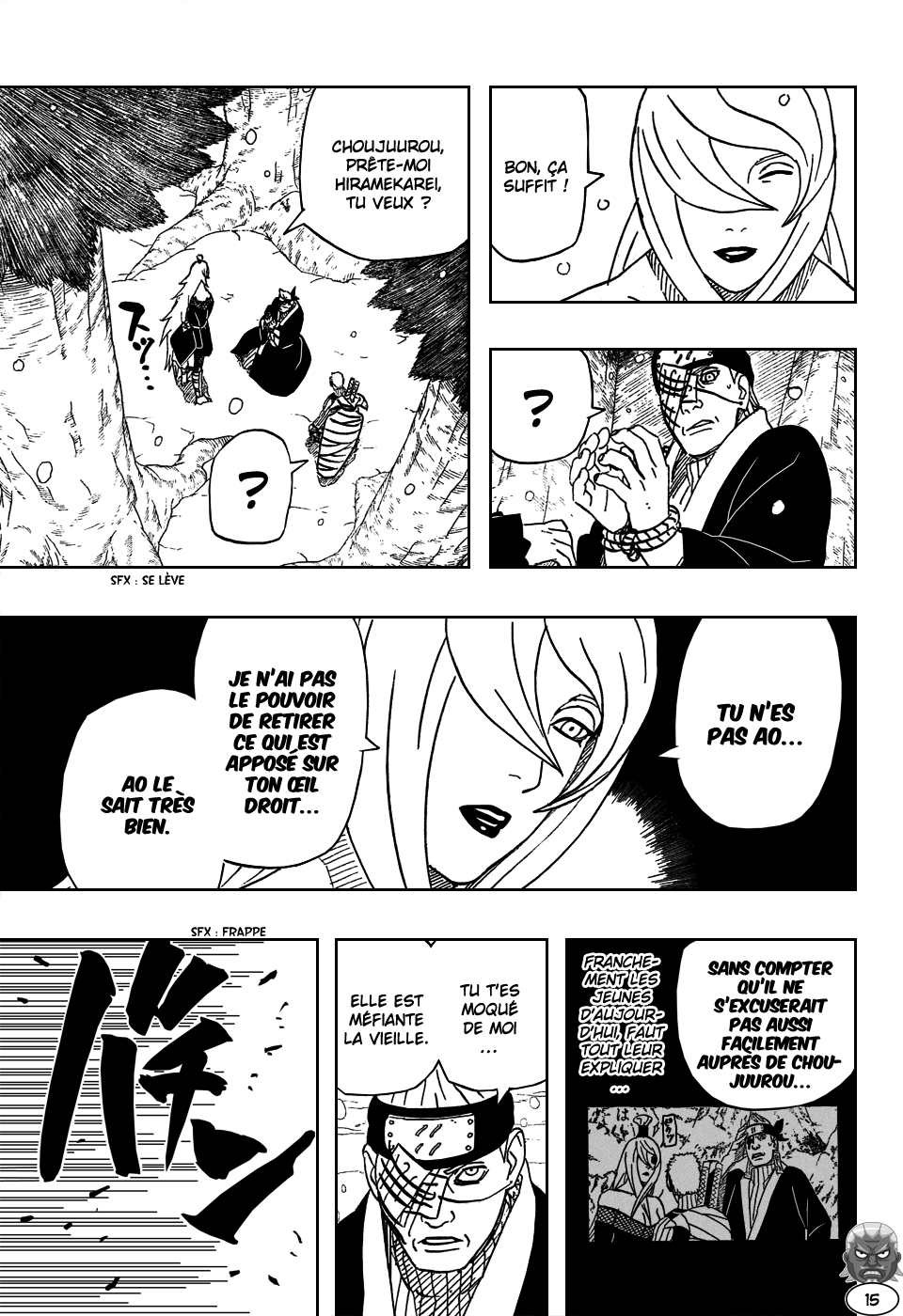 Naruto chapitre 473 - Page 14