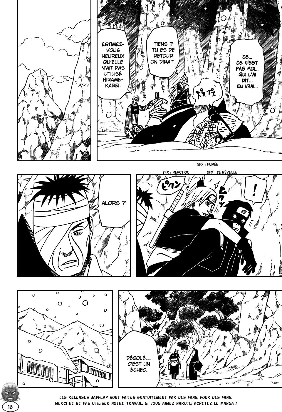 Naruto chapitre 473 - Page 15