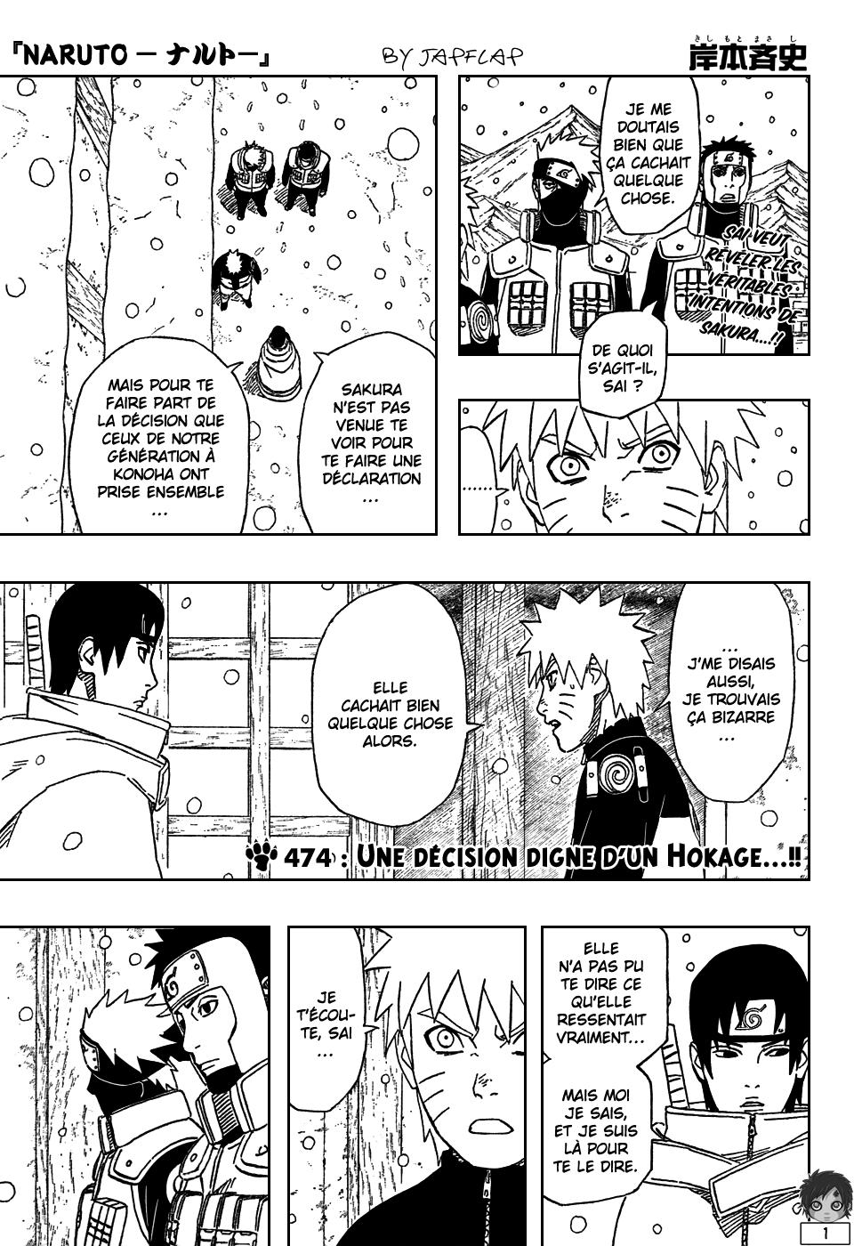 Naruto chapitre 474 - Page 1