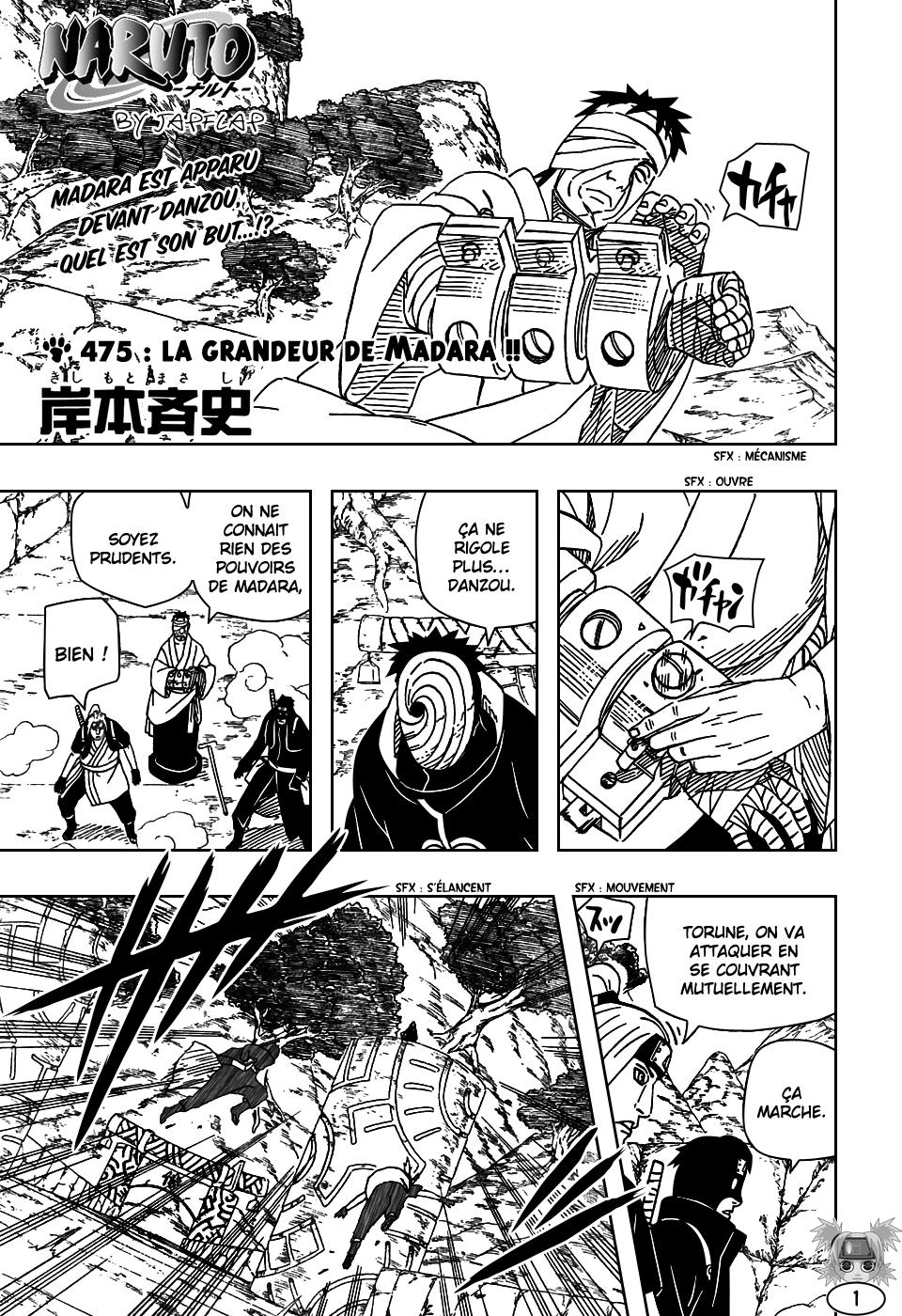 Naruto chapitre 475 - Page 1