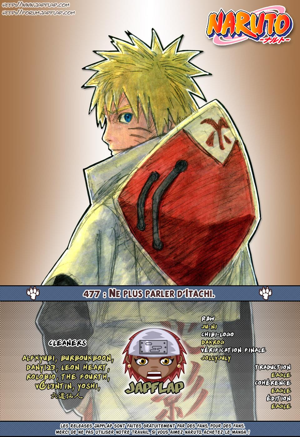Naruto chapitre 477 - Page 17