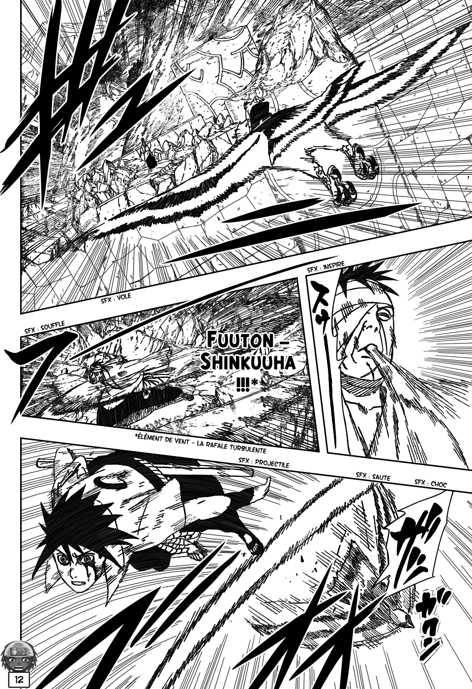 Naruto chapitre 477 - Page 12