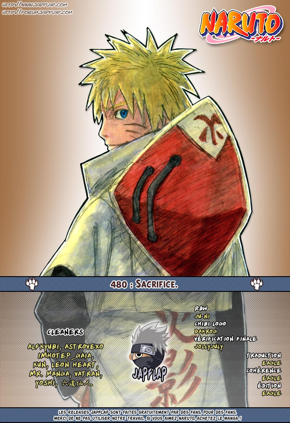 Naruto chapitre 480 - Page 16