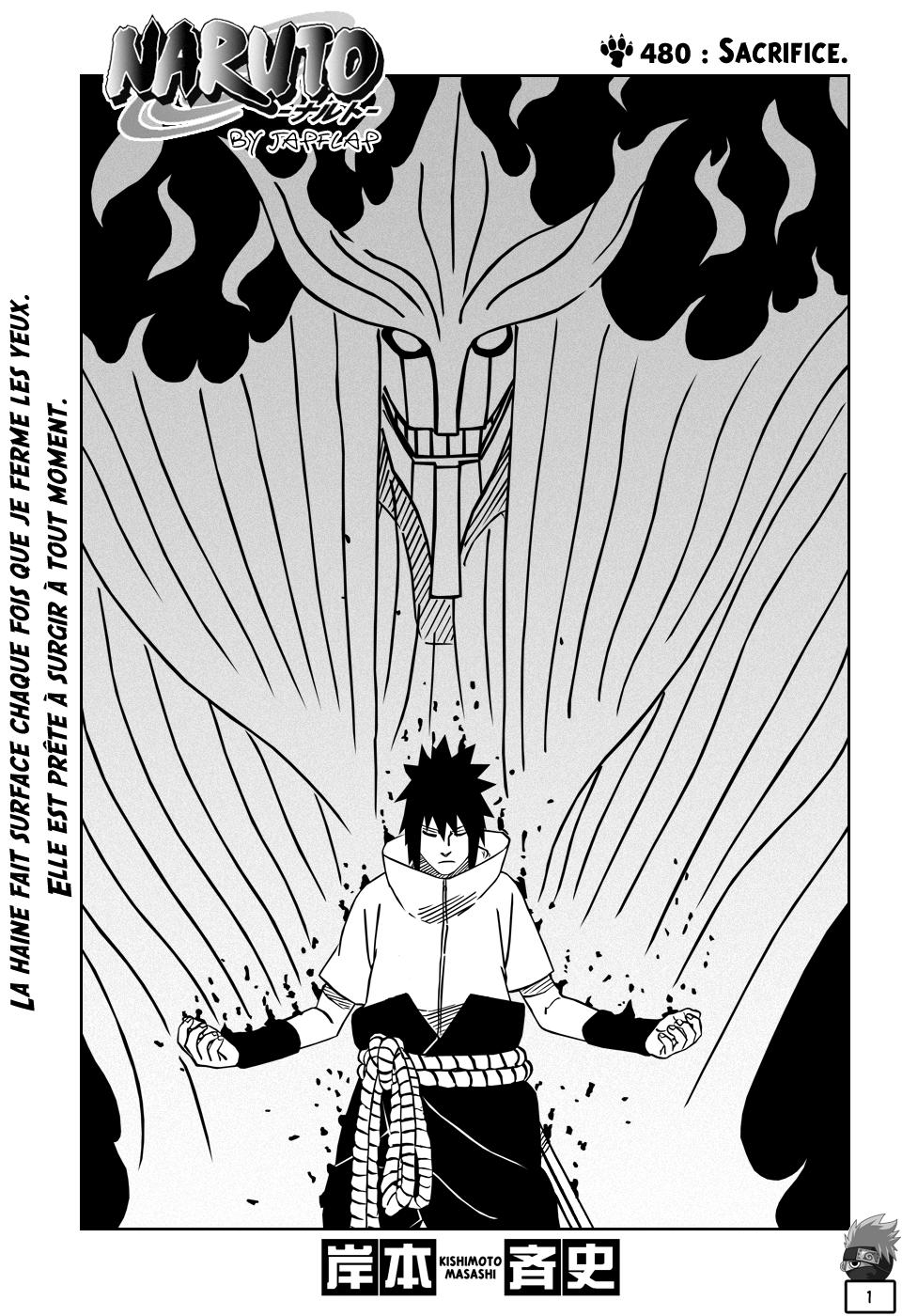Naruto chapitre 480 - Page 1
