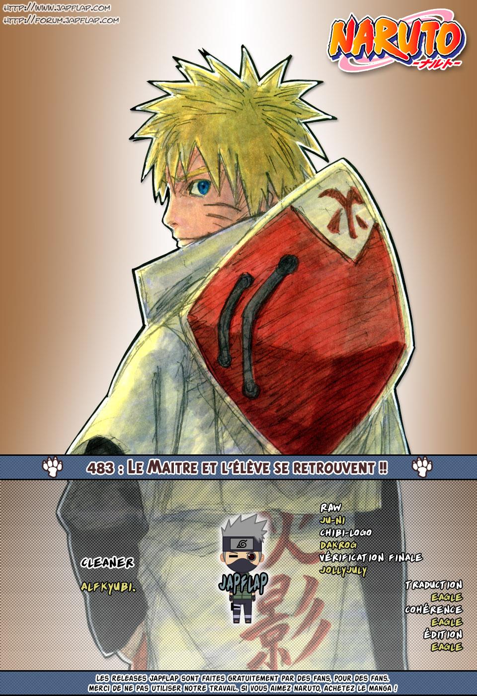 Naruto chapitre 483 - Page 18