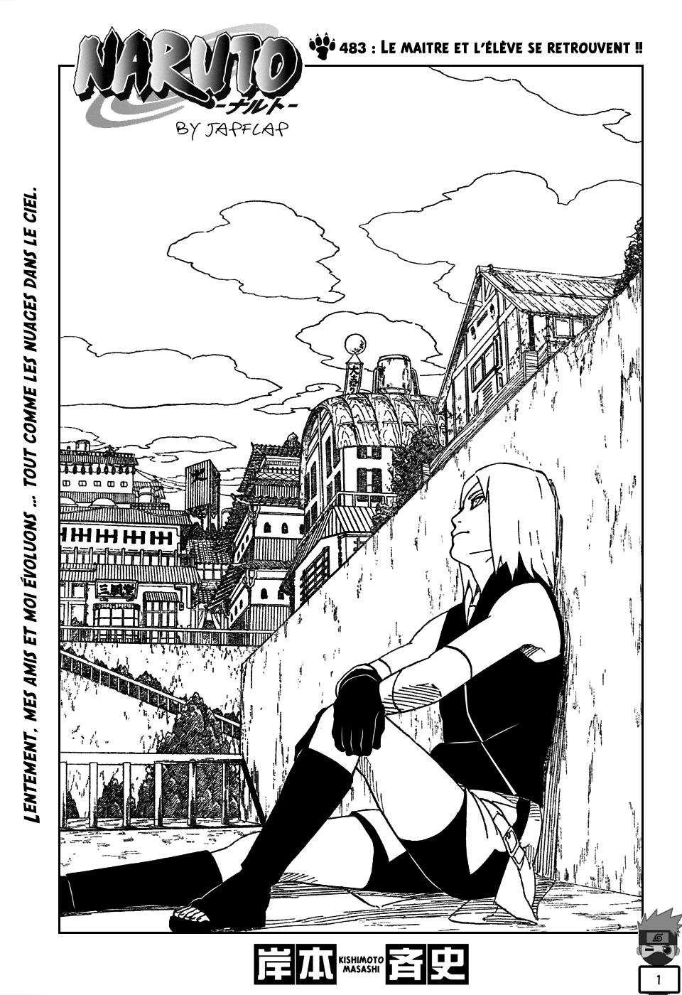Naruto chapitre 483 - Page 1