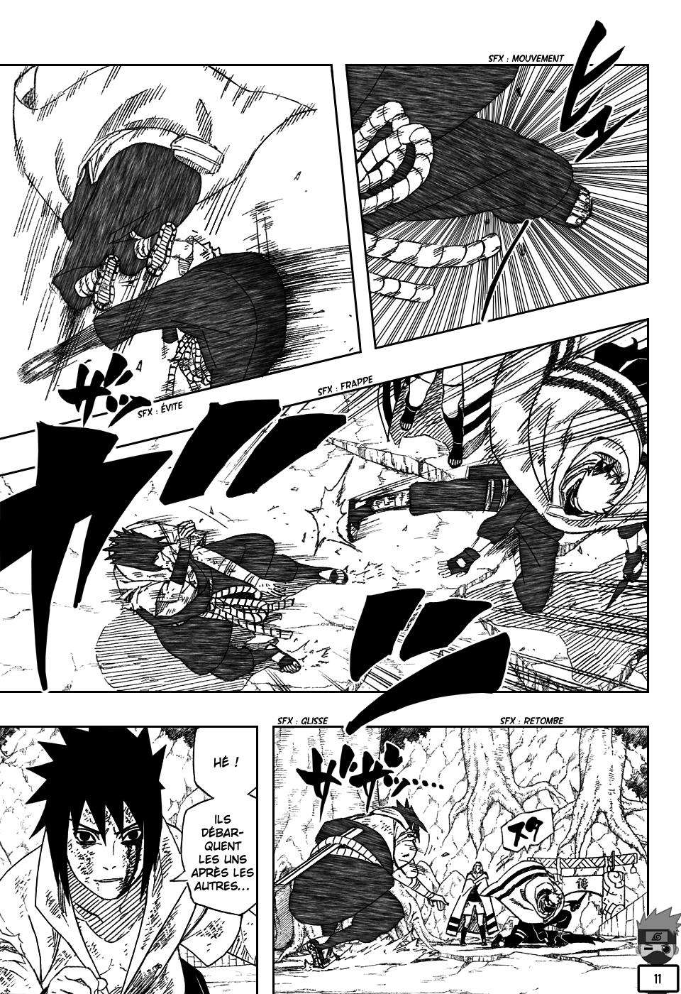 Naruto chapitre 483 - Page 11