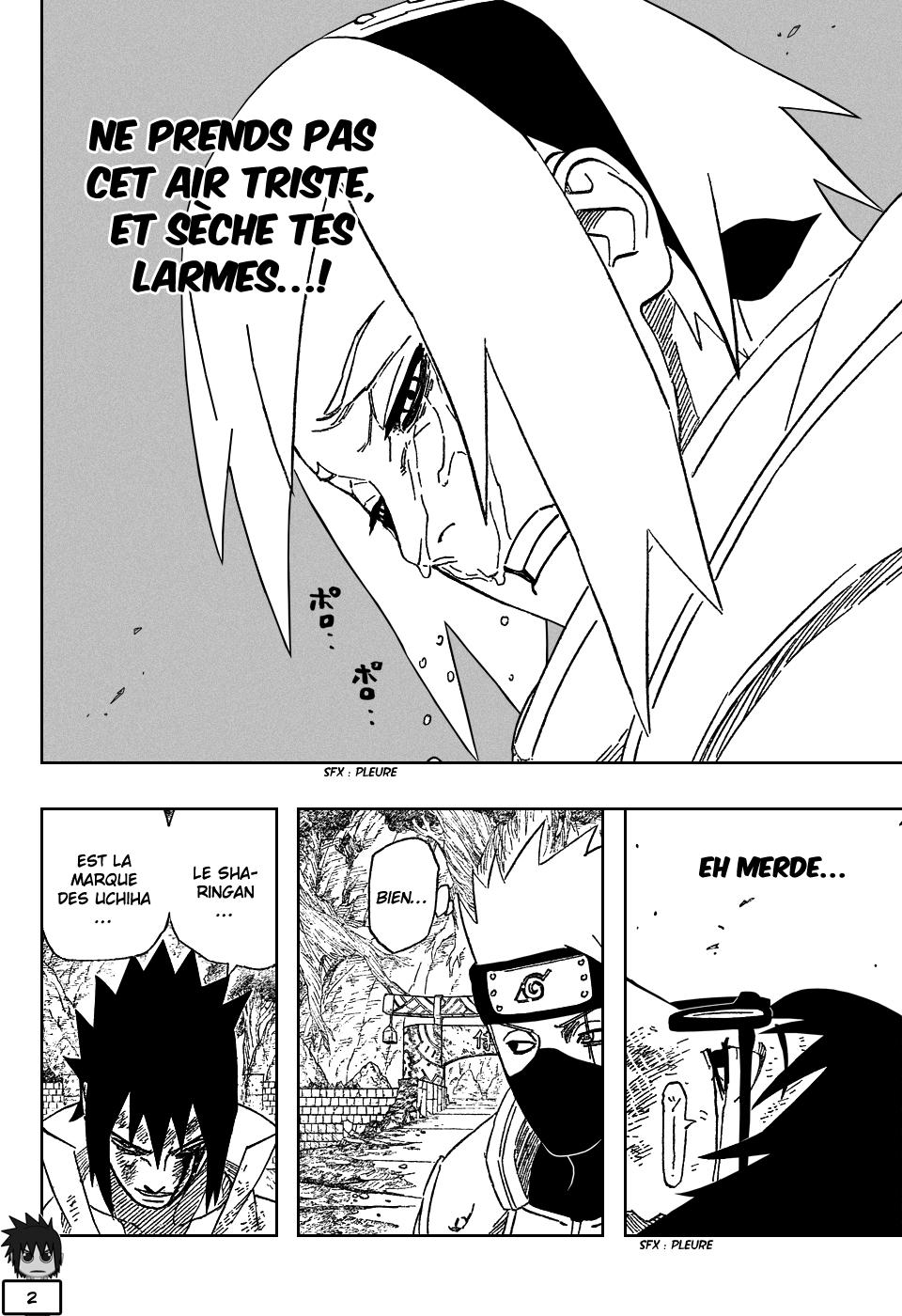 Naruto chapitre 484 - Page 2