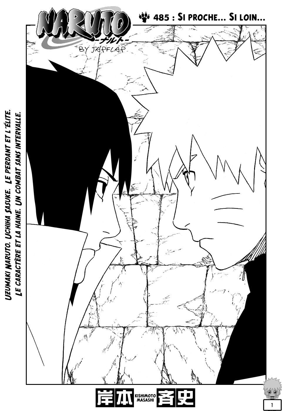 Naruto chapitre 485 - Page 1