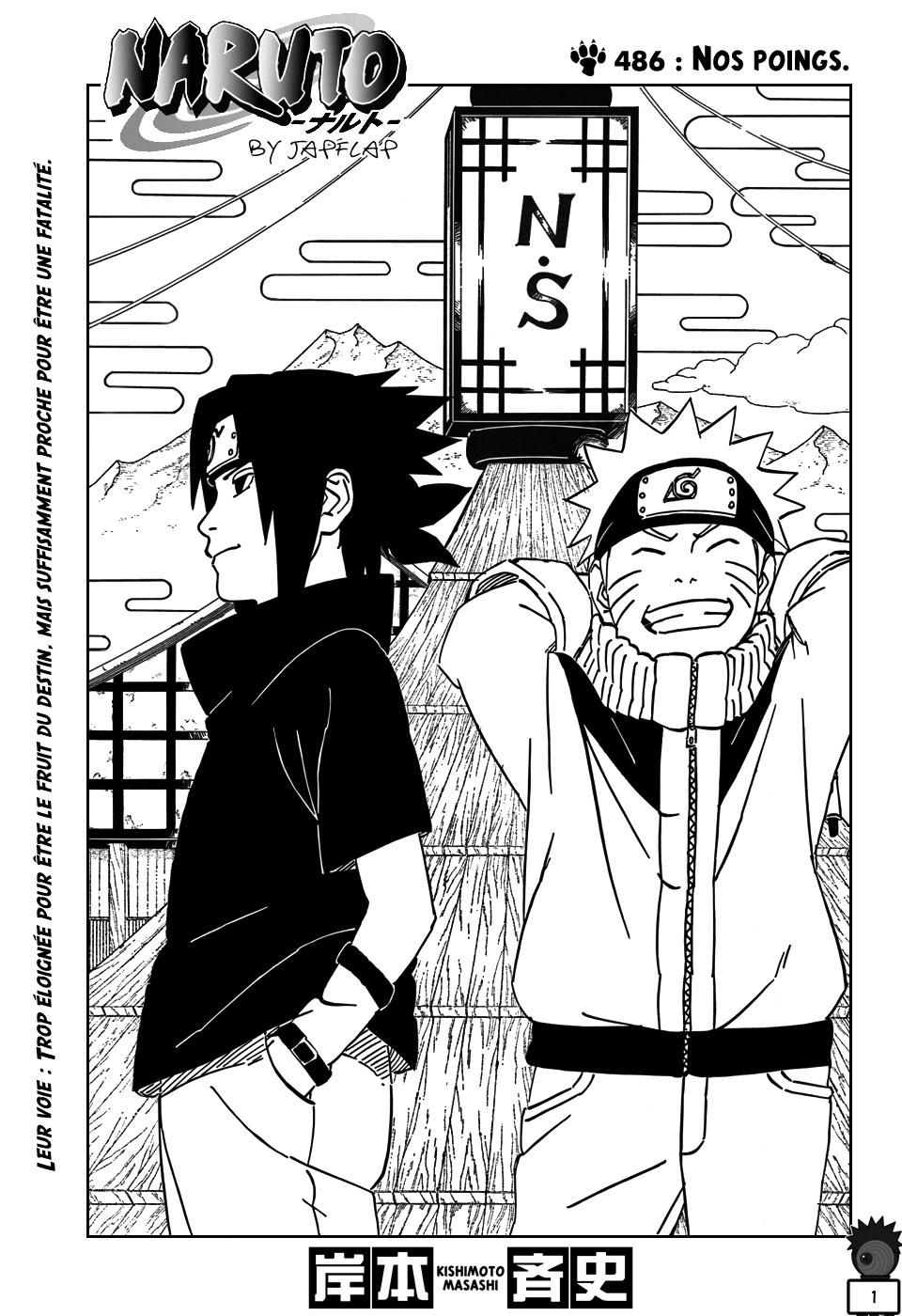 Naruto chapitre 486 - Page 1