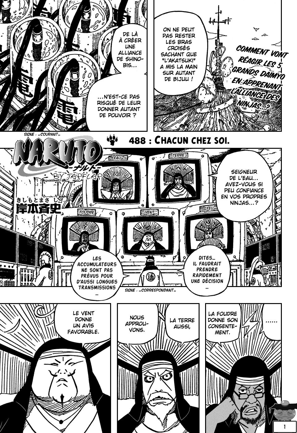 Naruto chapitre 488 - Page 1