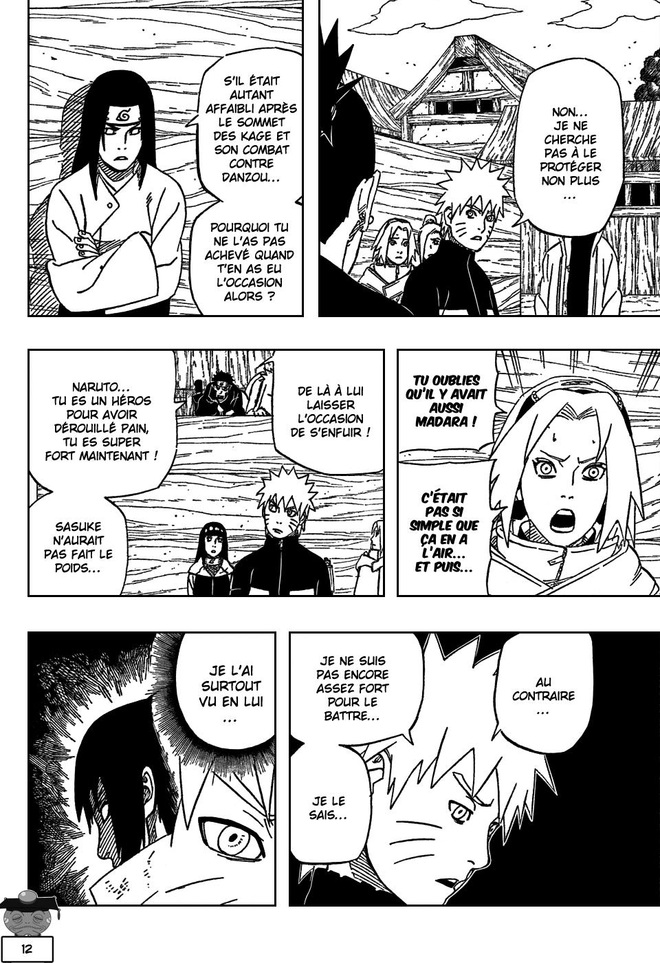 Naruto chapitre 488 - Page 12