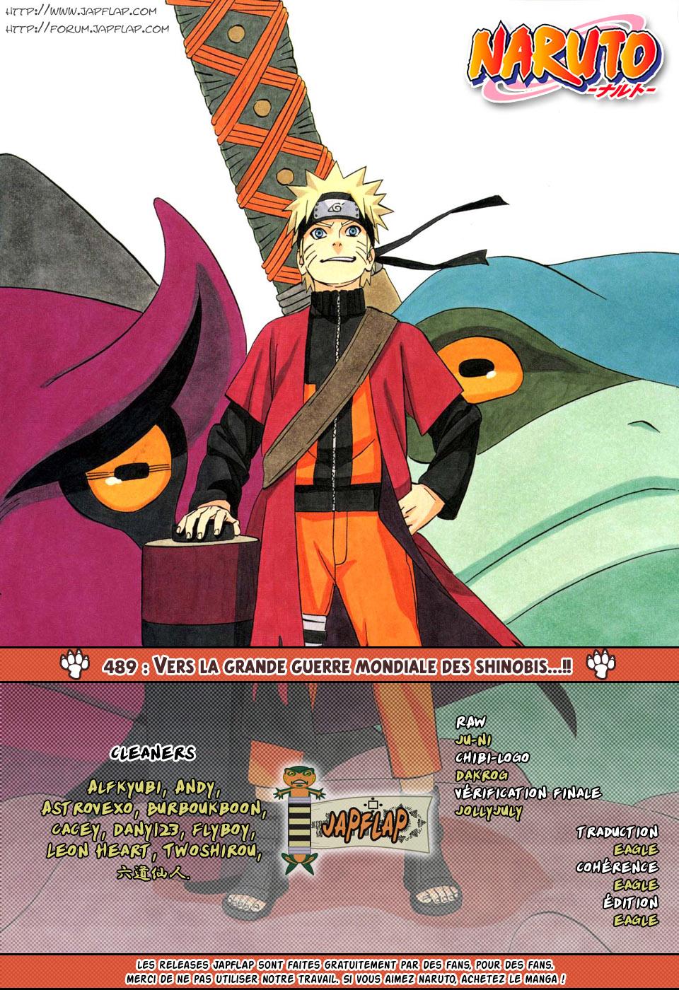 Naruto chapitre 489 - Page 19