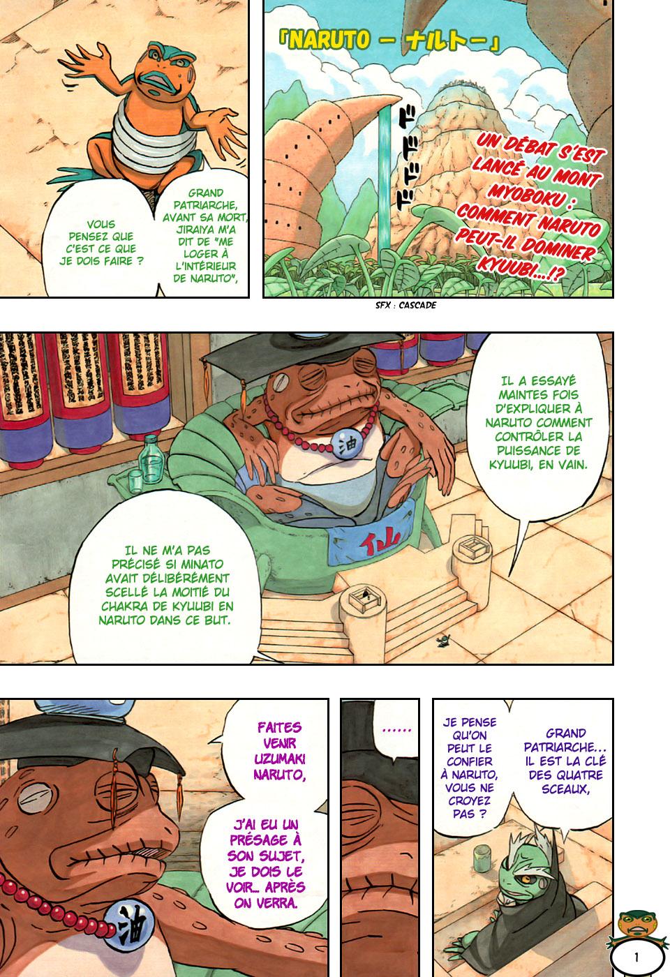 Naruto chapitre 489 - Page 1