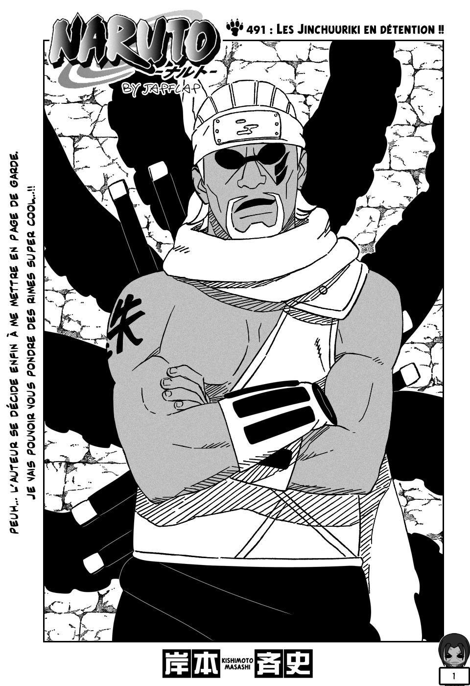 Naruto chapitre 491 - Page 1