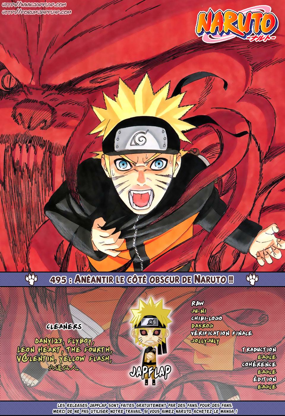 Naruto chapitre 495 - Page 17