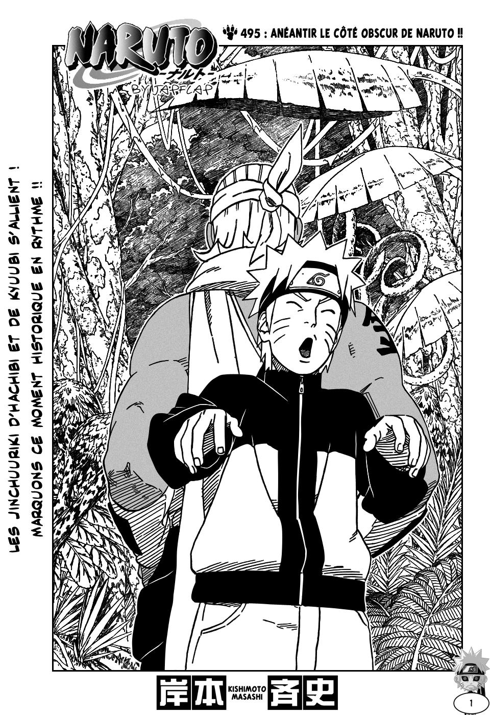 Naruto chapitre 495 - Page 1