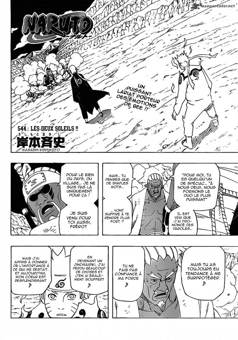 Naruto chapitre 544 - Page 2