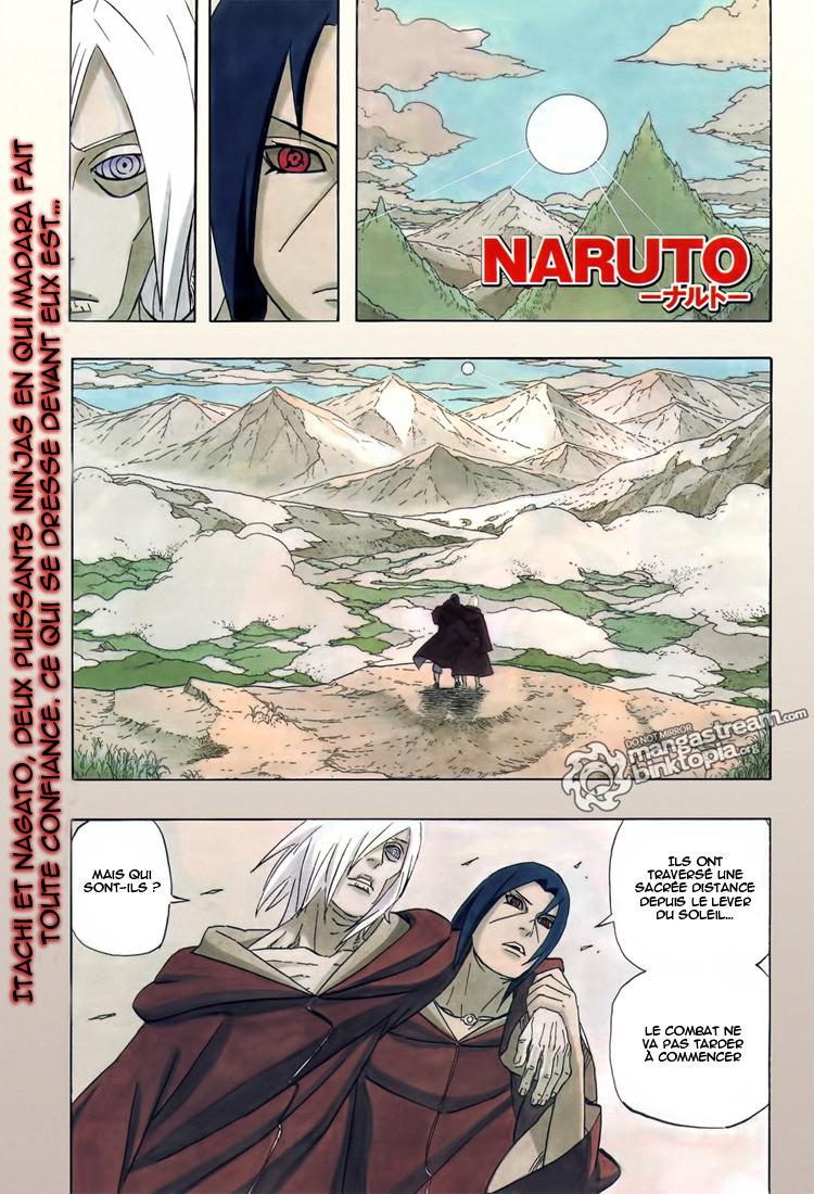 Naruto chapitre 548 - Page 1